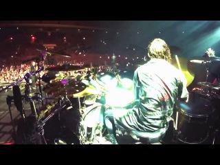 SLIPKNOT: Jay Weinberg - Surfacing (Drum Cam) [30.01.2016 / МОСКВА]