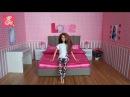 Barbie dream house ♥ Барби Дом мечты 2 ♥ Мебель для куклы - Спальня - Barbie bedroom