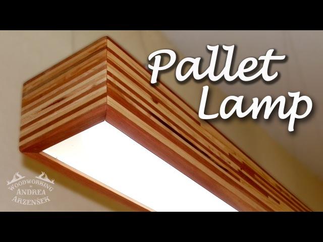 Pallet LED Lamp (Pallet Challenge) - Ep 034