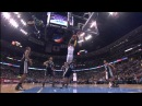 J R Smith dunk on Gary Neal Spurs @ Nuggets 12 16 10