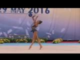Арина Аверина Мяч АА - Кубок мира София 2016