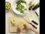 Салат с чечевицей и сыром