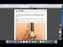 стильные женские часы с оригинальным дизайном 11.1