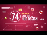 74 Call-Out and Hud Design Pack - VideoHive (After Effects)
