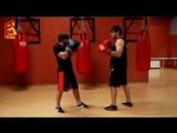Бокс. Встречные удары правой кросс, свинг и т.д. под джеб (левый прямой)