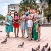 Флешмоб женственности в Минусинске