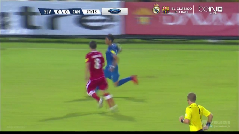 World Cup 2018 Qualification Round CONCACAF El Salvador - Canada 17.11.2015 First Time