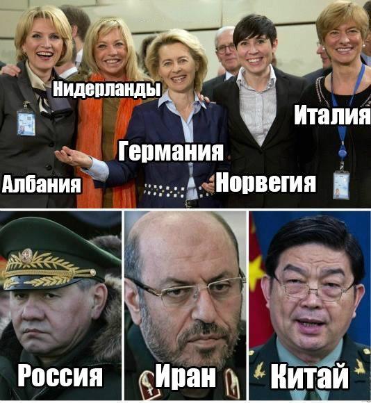 Руководители армий в разных странах.