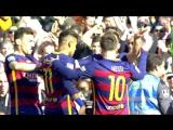 Барселона 6-0 Хетафе.  Ла Лига 2015/16. 29 тур.