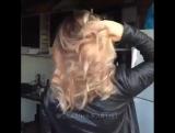 Идея крутого окрашивания волос