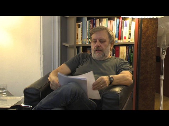 Slavoj Zizek What does it mean to be a great thinker today
