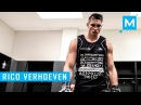 Rico Verhoeven Conditioning Training Pad Work | Muscle Madness