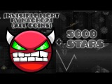 Geometry Dash  Invisible light by Nacho21 (all coins)Easy demon + 5k stars!