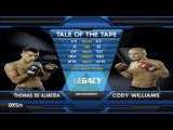 Fight of the Week Thomas de Almeida with a Crushing Elbow vs. Cody Williams at Legacy15