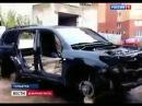 Воры за пару часов разобрали Toyota Land Cruiser