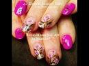 Nail Art! Pink Daisy Nails | Cute Vintage Daisies Nail Design tutorial!