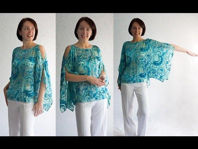 Блузка своими руками блузки для женщин как сшить блузку