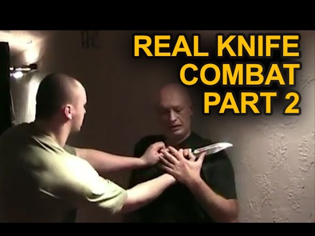 KNIFE FIGHTING - REAL KNIFE COMBAT - KNIFE SELF-DEFENSE PART 2 - SYSTEMA KNIFE DISARMING TECHNIQUES