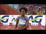Elaine Thompson wins 100m Women's HD Diamond League Brussels 2016