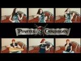 Pirates of the Caribbean - Main Theme (Anastasia Soina violin)