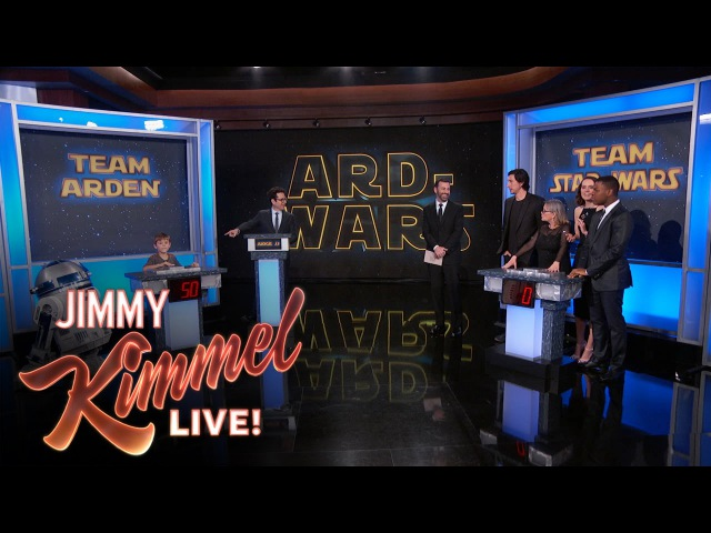 Ard-Wars - Arden Hayes vs The Cast of Star Wars: The Force Awakens
