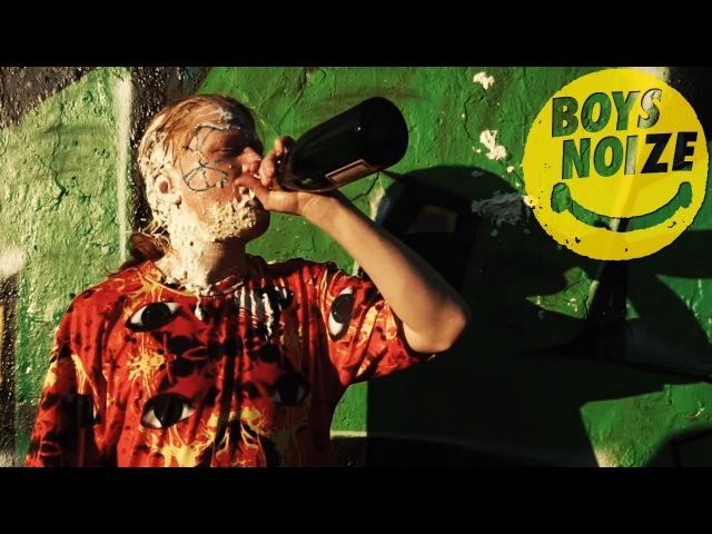 Boys Noize - Birthday feat. Hudson Mohawke Spank Rock (Official Video)