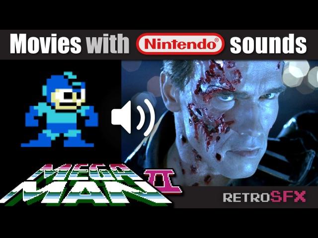'Terminator 2' with MEGA MAN 2 Nintendo NES sounds