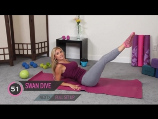 Flat Stomach Exercise For Women. Get a Flat Stomach Fast With Pilates Ab Workout