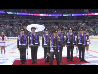 Russian Army Choir - We Will Rock You (SKA hockey)