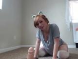 Cute riding huge dildo Porno, porn, vagina, pussy, dildo, toy, webcam, cute