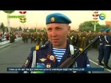 В Минске прошла репетиция парада ко Дню независимости
