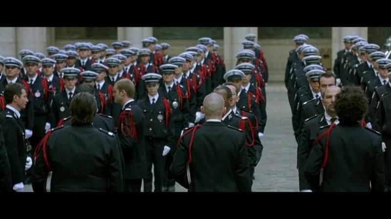 Набережная Орфевр, 36 (36 quai des Orf vres) (2004, Olivier Marchal) - Протест на похоронах - 640x480