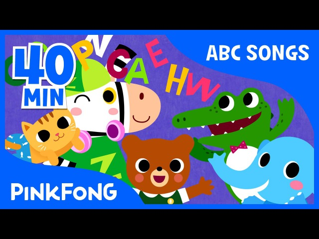 Sing and Master the Alphabet From A to Z! | Phonics | Compilation | PINKFONG Songs for Children