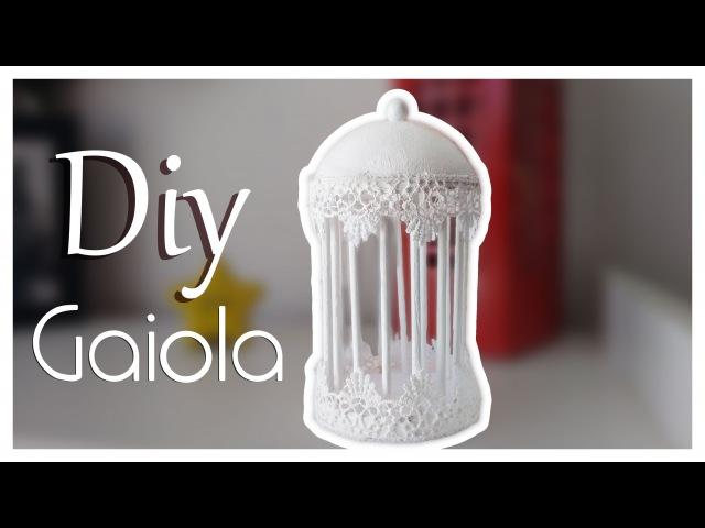 Como fazer uma Gaiola de decoração