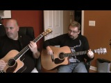 Men at Work  Colin James Hay - Overkill (Acoustic Cover with two guitars)