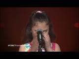 Маленькая сирийская девочка поет о Сирии