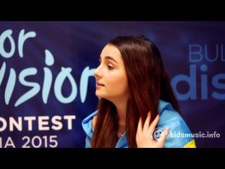 Анна Тринчер (Anna Trincher, the Ukraine) - Интервью kids'music [Junior Eurovision 2015]