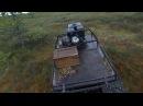 Мотобуксировщик для болота - КОЙРА!