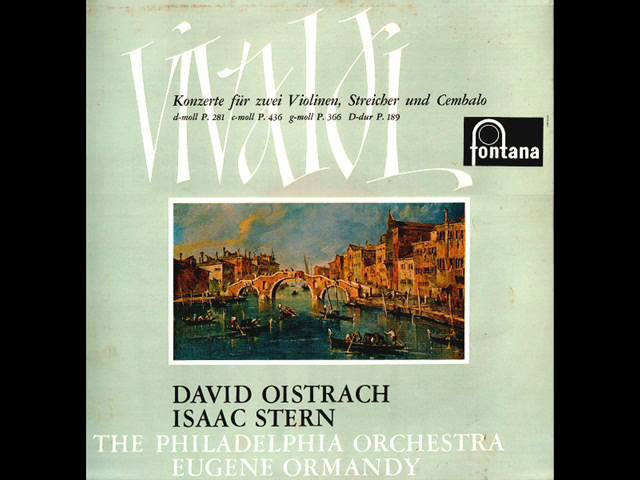 Vivaldi-Concerto for 2 Violins, Strings and Continuo in d minor RV 514 (P. 281) (Complete)