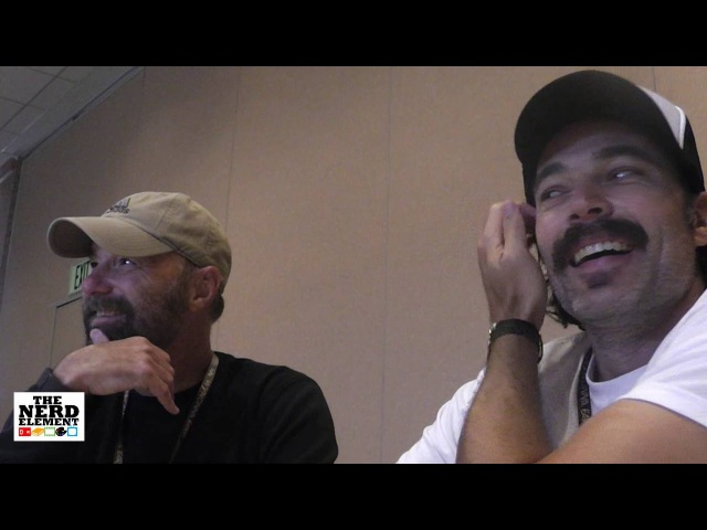 SDCC 2016 Wynonna Earp Tim Rozon and Beau Smith