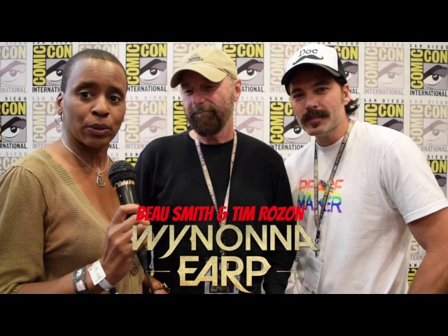 Wynonna Earp: Beau Smith Tim Rozon at Comic Con 2016