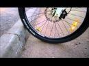 Преодоление бордюра на велосипеде