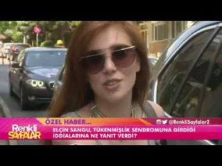 Elçin Sangu - Envoy's plans and guess what? ❤ is speaking for Kanal D ❤ 28.06.2016
