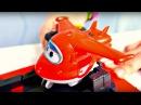 Vidéo pour enfants de voitures et avions la base de Super Wings