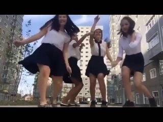 Танец школьниц возмутил Казнет