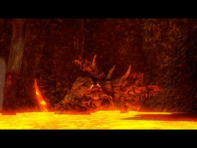 Dark Souls Демон Стоног Centipede Demon - последний босс в Руинах Демонов