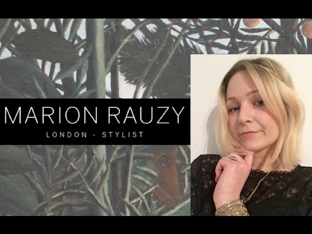 Marion Rauzy How to define your style (UK)