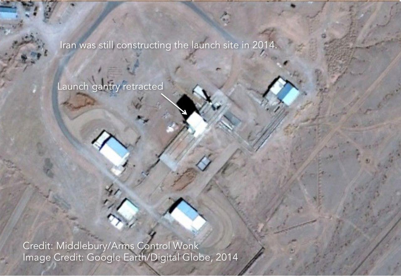 Иран готовит к запуску ракету-носитель легкого класса Simorgh