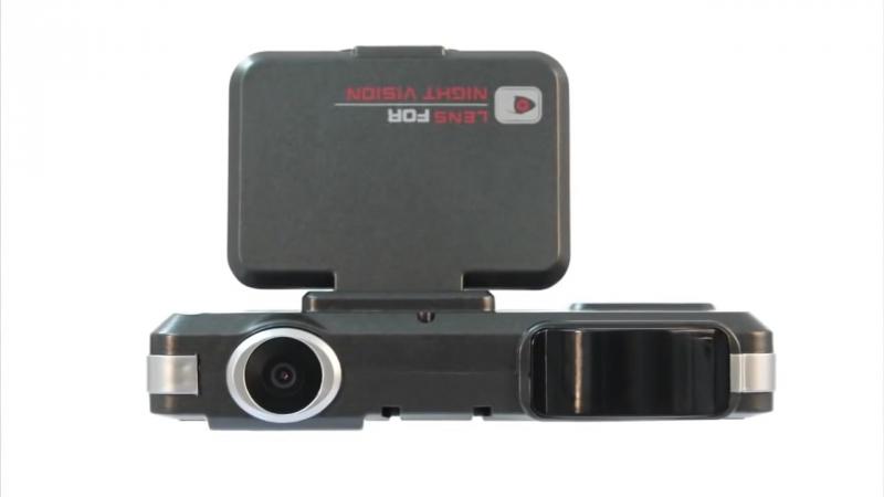 Видеорегистратор 3 в 1 с GPS, радар детектором и HD качеством записи!