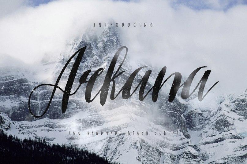 Arkana Script шрифт скачать бесплатно